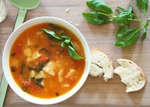 Sopa Rústica de Tomate
