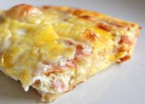 Omelete de Queijo e Bacon