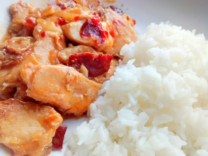Sweet-Chilli-Chicken-Rice
