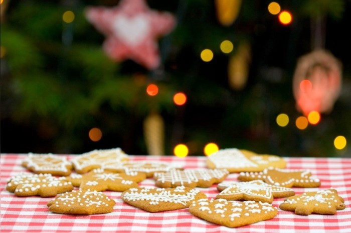 Mesa-de-Natal-com-Biscoitos