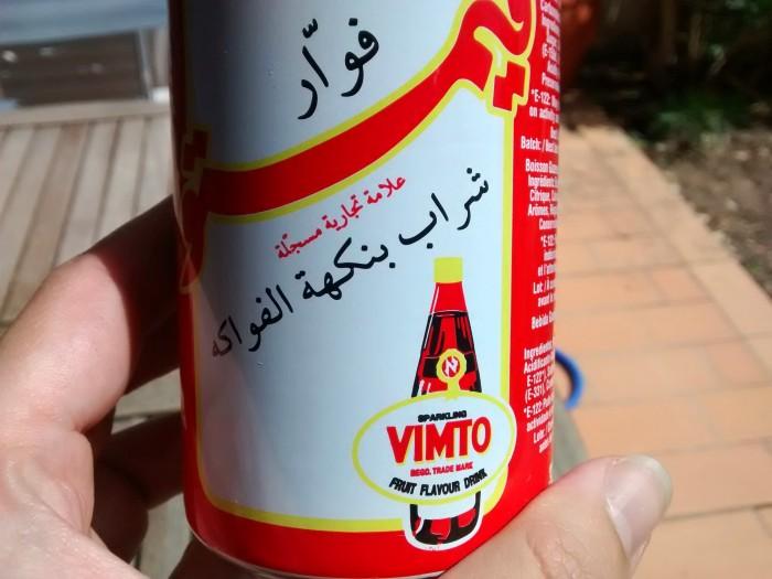 Vimto-Arabe