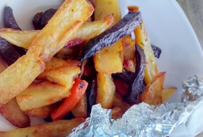 Batatas-Cenouras-Beterrabas-Forno