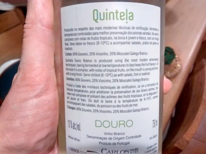 Quintela-Douro-Legenda