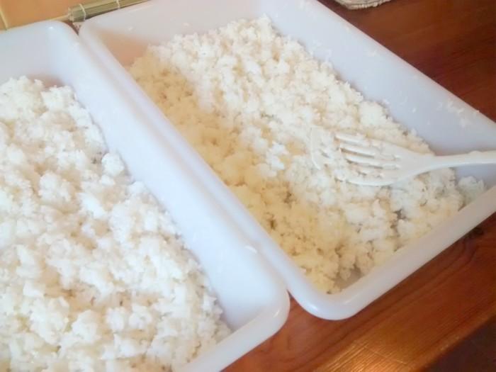 Separar-e-Esfriar-Arroz-Sushi