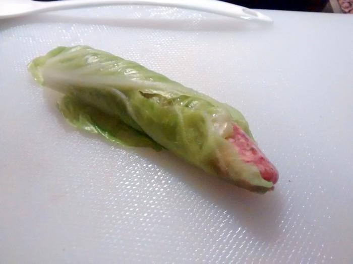 Enrolar-Salsicha-Couve
