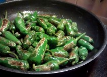 Pimentos Verdes Salteados