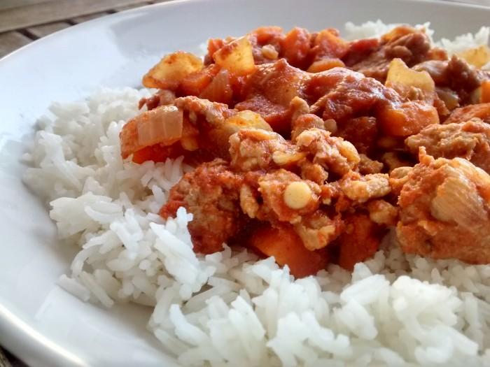 Carne-Picada-Caril-Tailandes-Arroz
