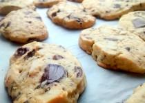 Biscoitos de Chocolate e Amêndoa