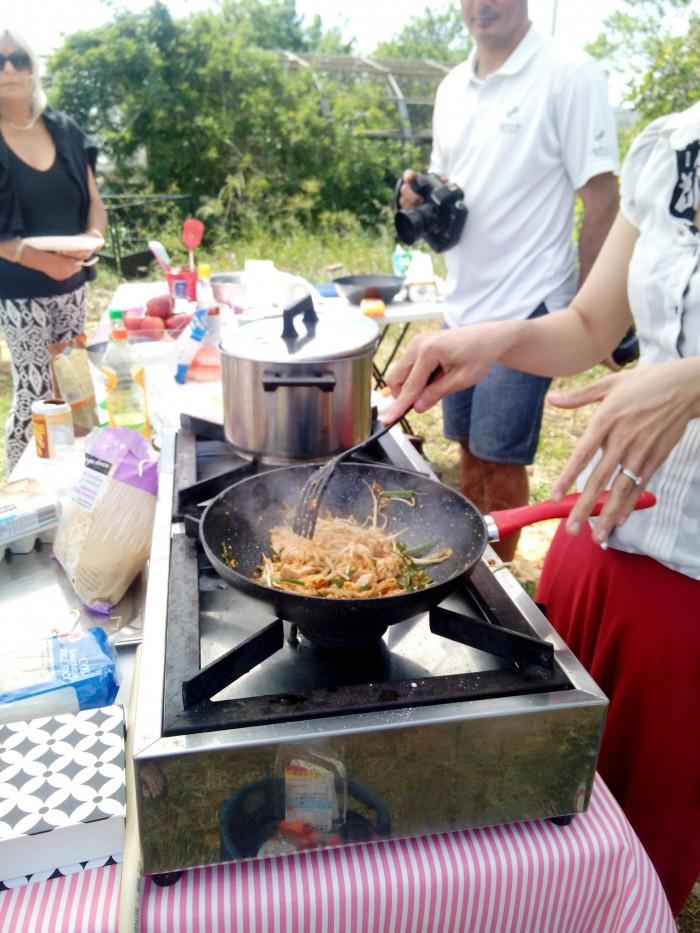 Cozinhar-o-Phad-Thai