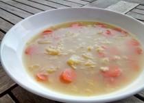 Sopa de Cenoura e Couve