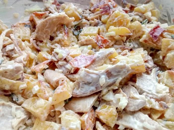 Temperar-a-Salada-Batata-Frango