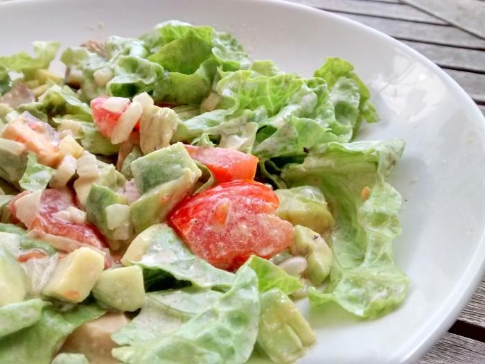 Salada-com-Tomate-e-Abacate