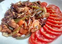 Atum com Legumes Caramelizados