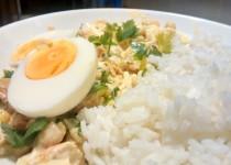 Salada de Atum com Ovo
