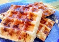 Waffles de Massa Folhada