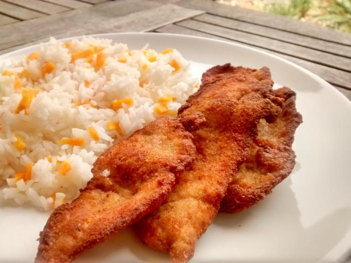 Panado-de-Porco-com-Arroz-de-Cenoura