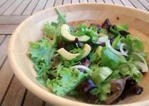 Salada de Alface com Abacate