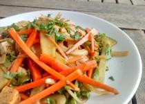 Salada de Cenoura e Tofu