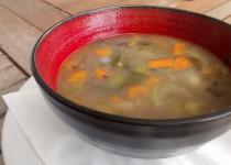 Sopa de Aipo e Feijão