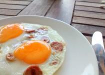 Ovos Estrelados com Salsicha