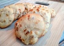 Cookies de Manteiga de Amendoim e Passas