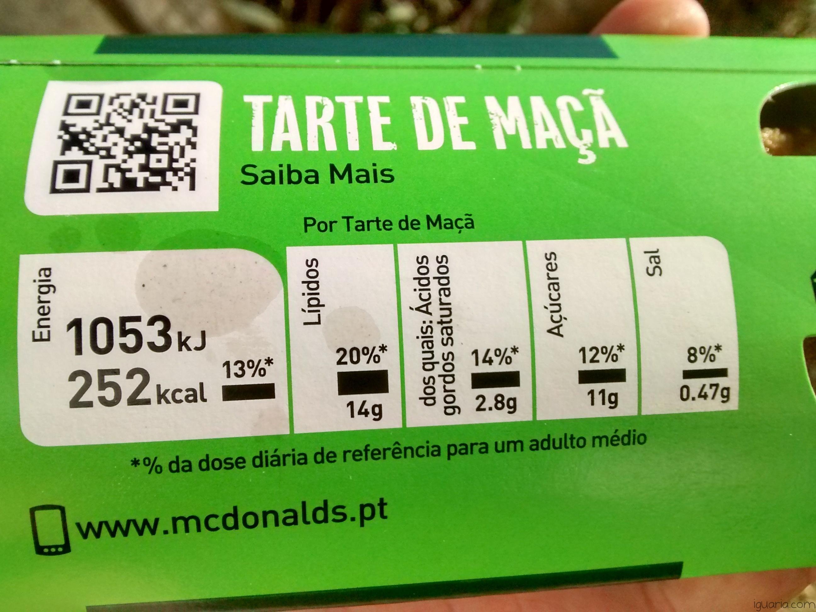 Iguaria_Informacao-Nutricional-Tarte-Maca-Macdonalds
