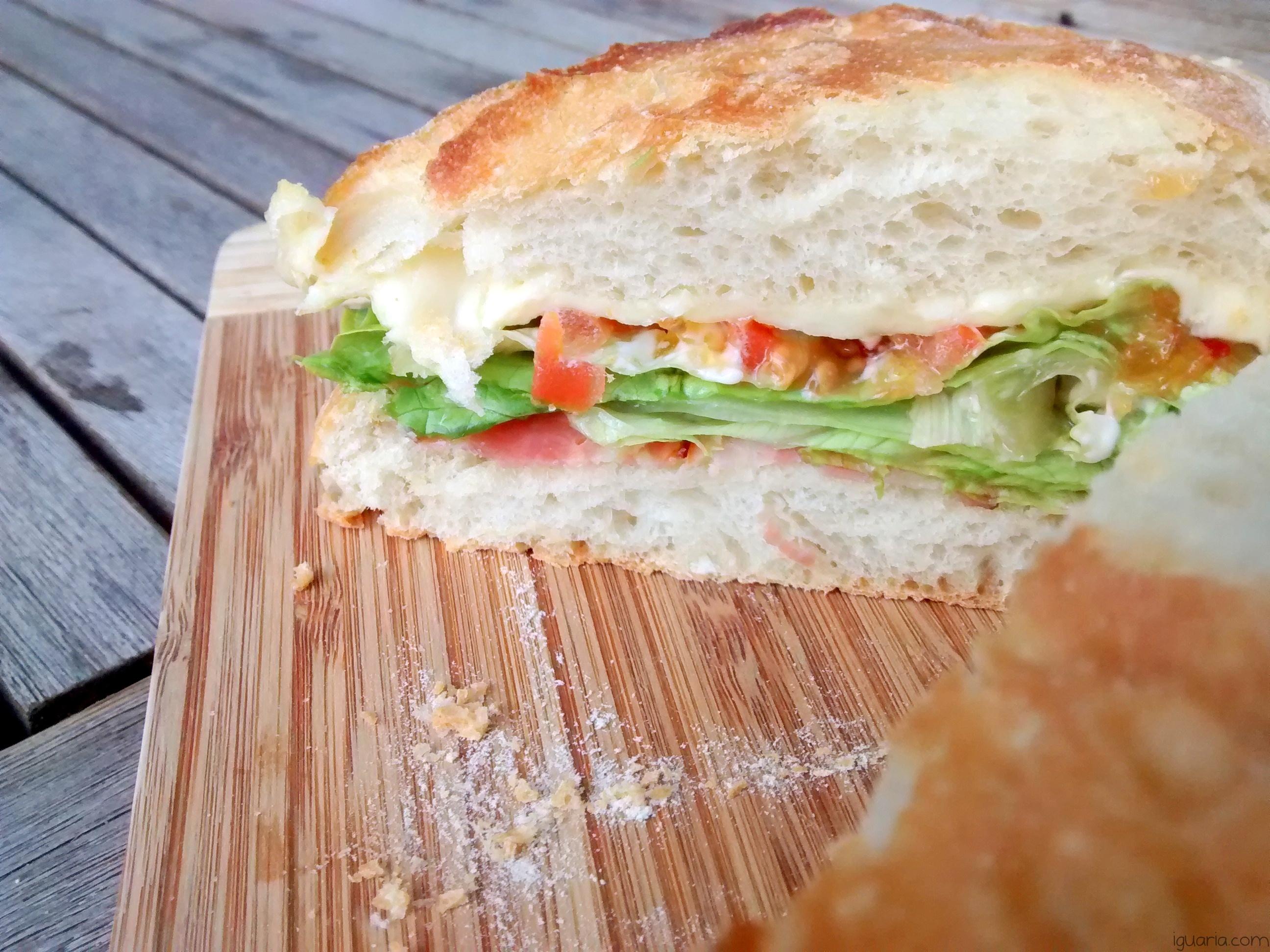 Iguaria_Sandes-Alface-Tomate-Queijo-Toucinho