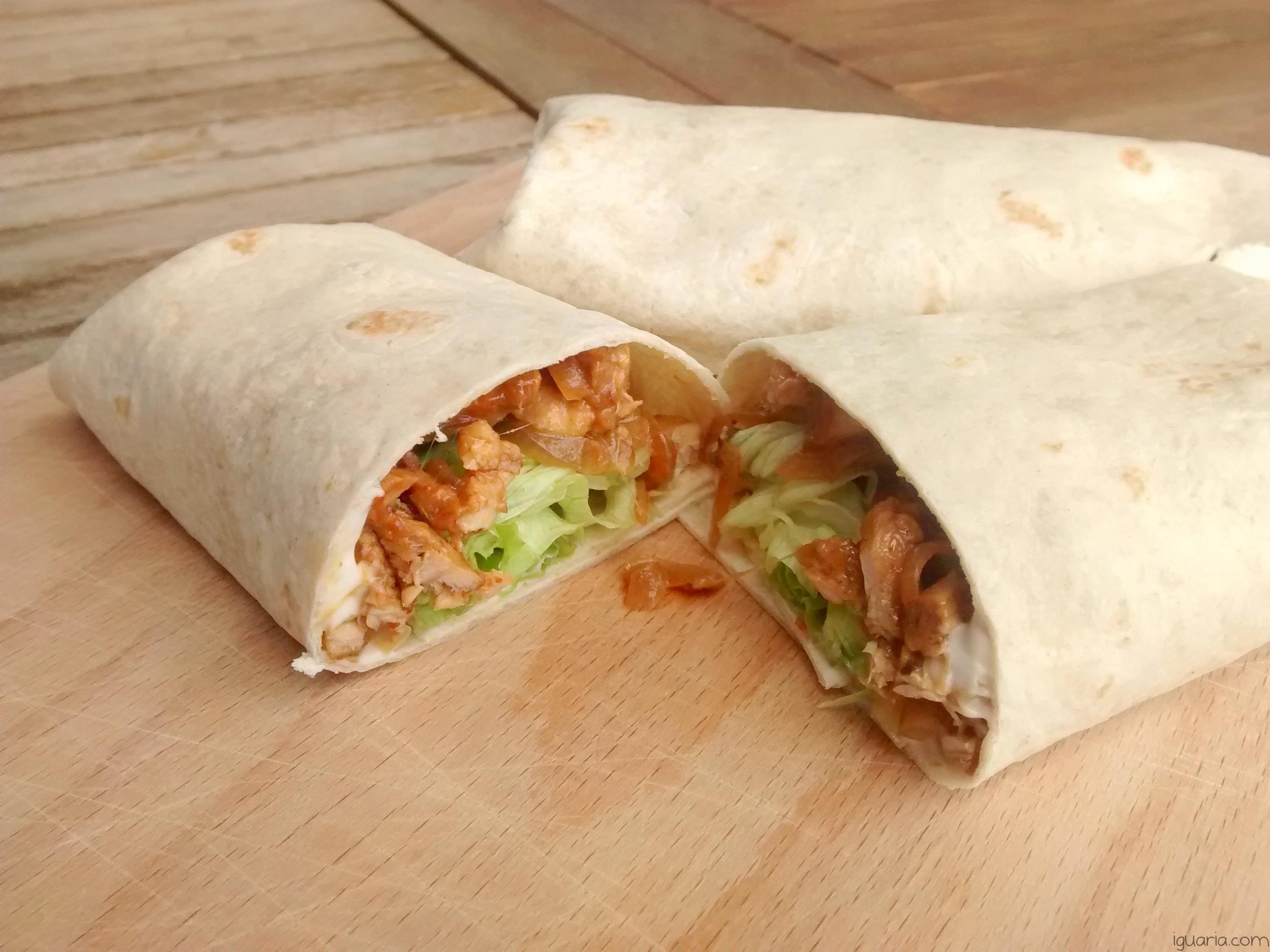 Iguaria_Wrap-de-Carne-Porco-e-Salada