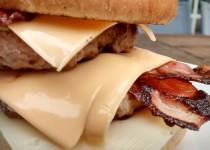 Duplo Hambúrguer com Bacon