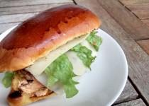 Hambúrguer em Pão de Leite