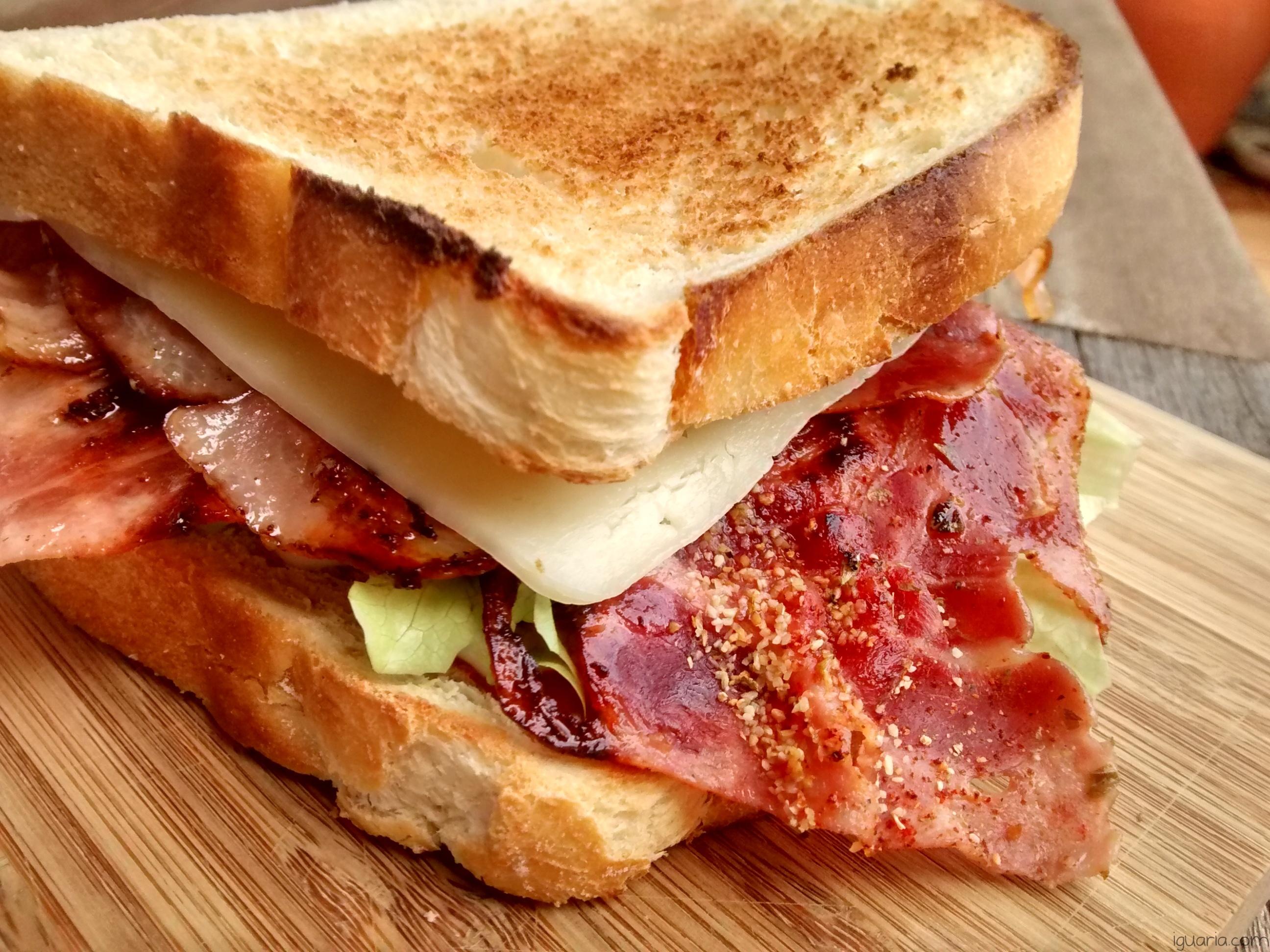Iguaria_Sandes-de-Bacon-e-Fiambre-Fritos