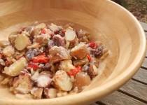 Salada de Batata e Polvo