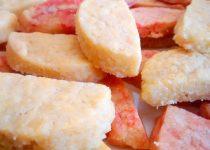 Biscoitos Meia Lua de Manteiga