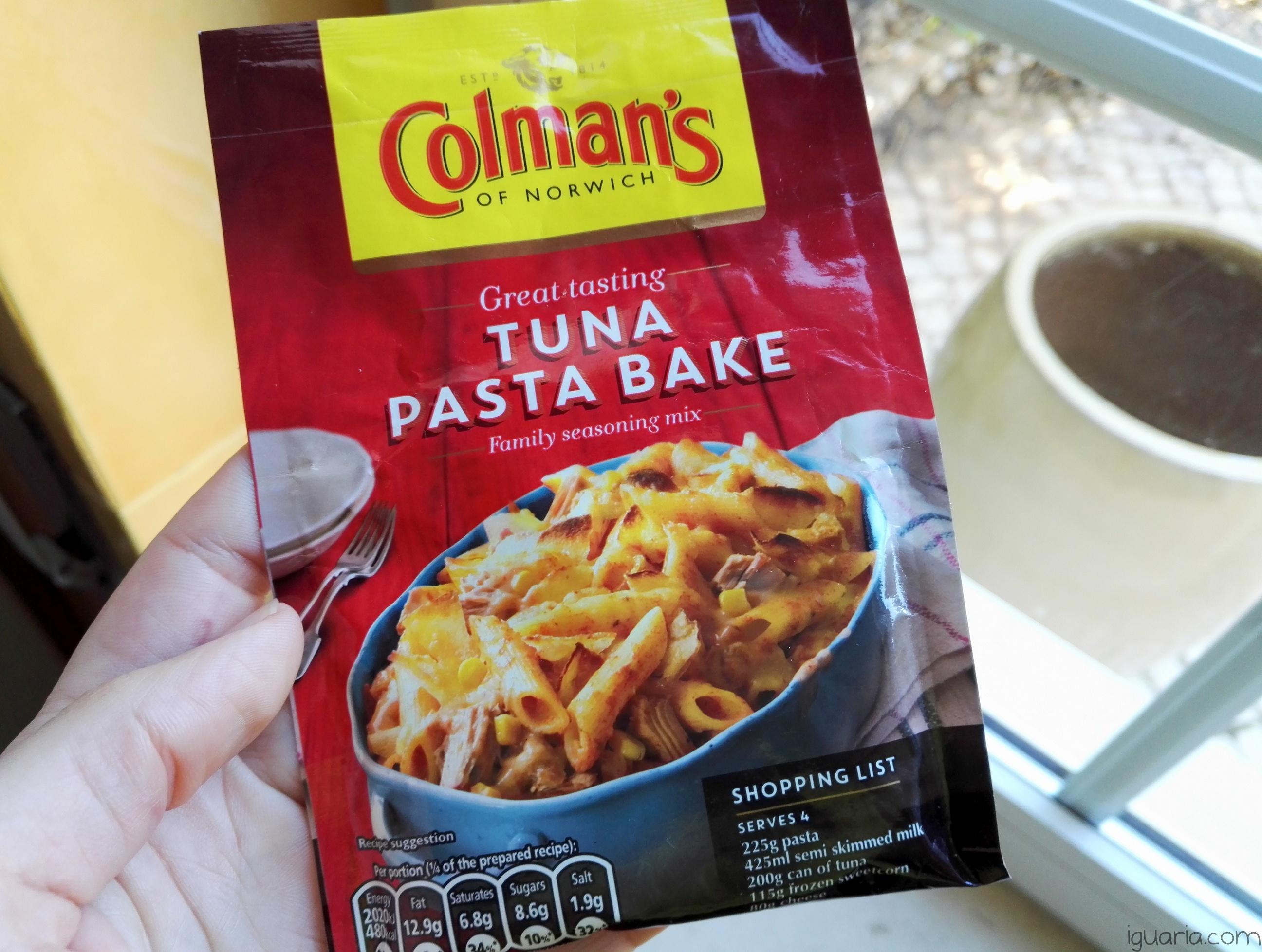 Iguaria_Colmans-Tuna-Pasta-Bake