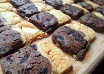 Biscoitos de Chocolate Preto e Branco