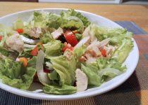 Salada de Frango e Grão