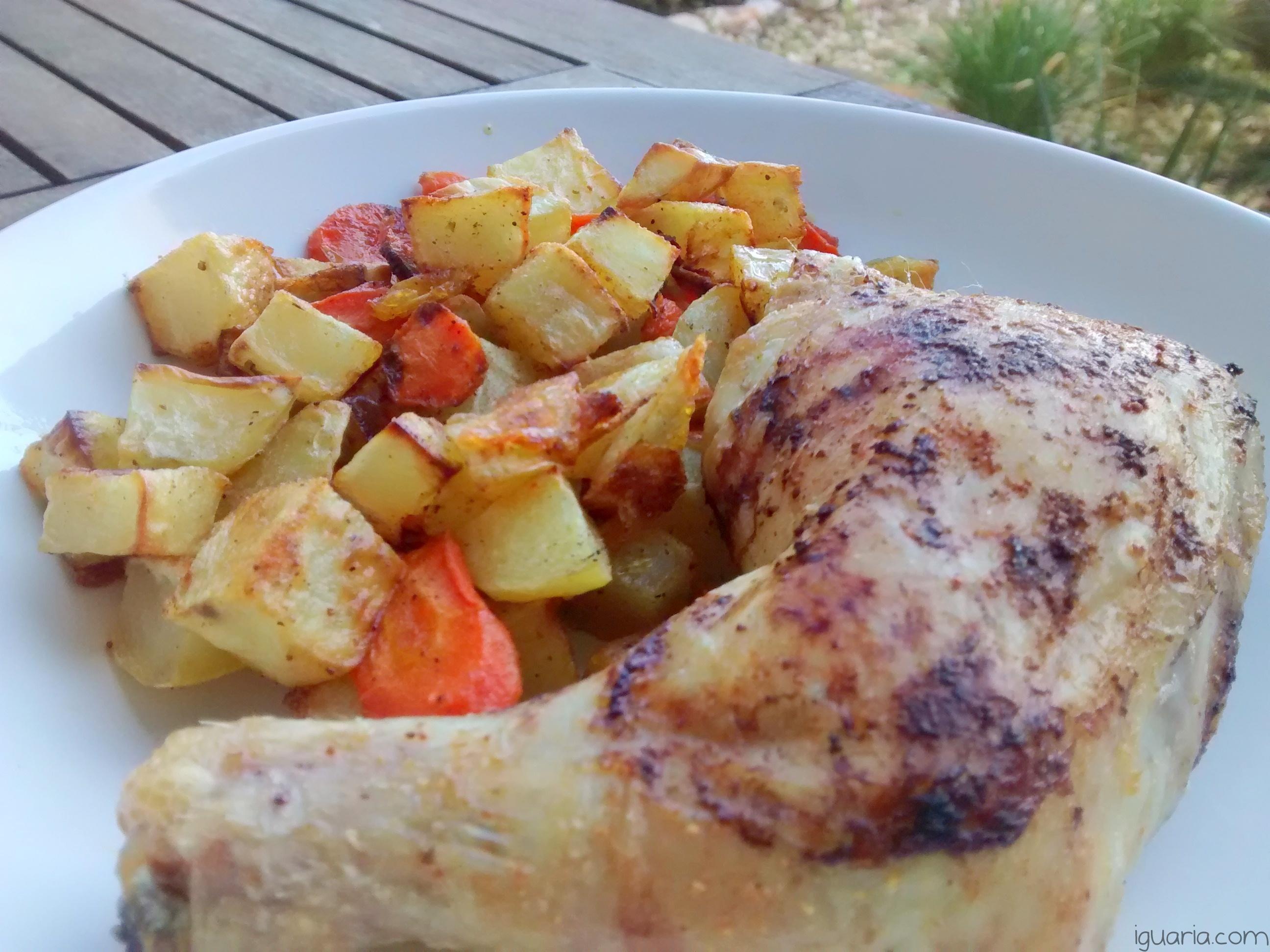 iguaria-batatas-e-cenouras-assadas