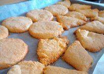 Biscoitos de Manteiga e Coco