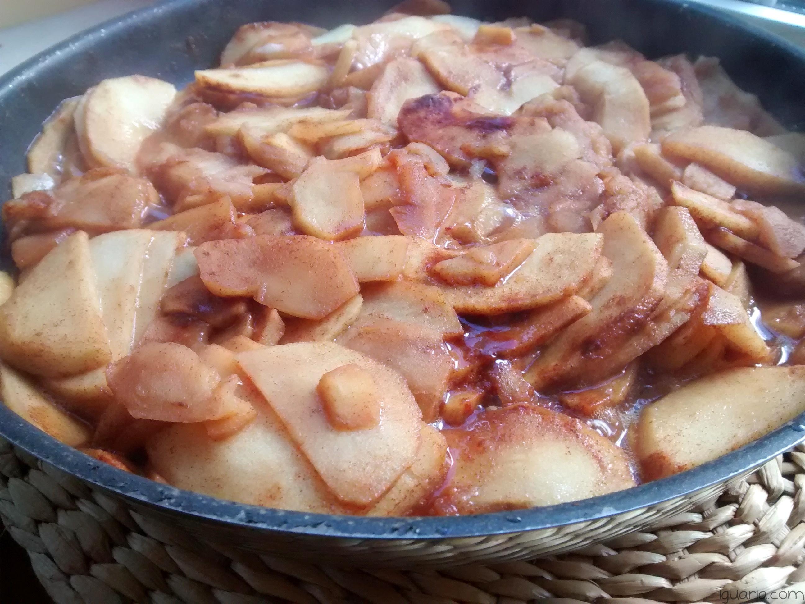iguaria-cozinhar-macas-com-canela