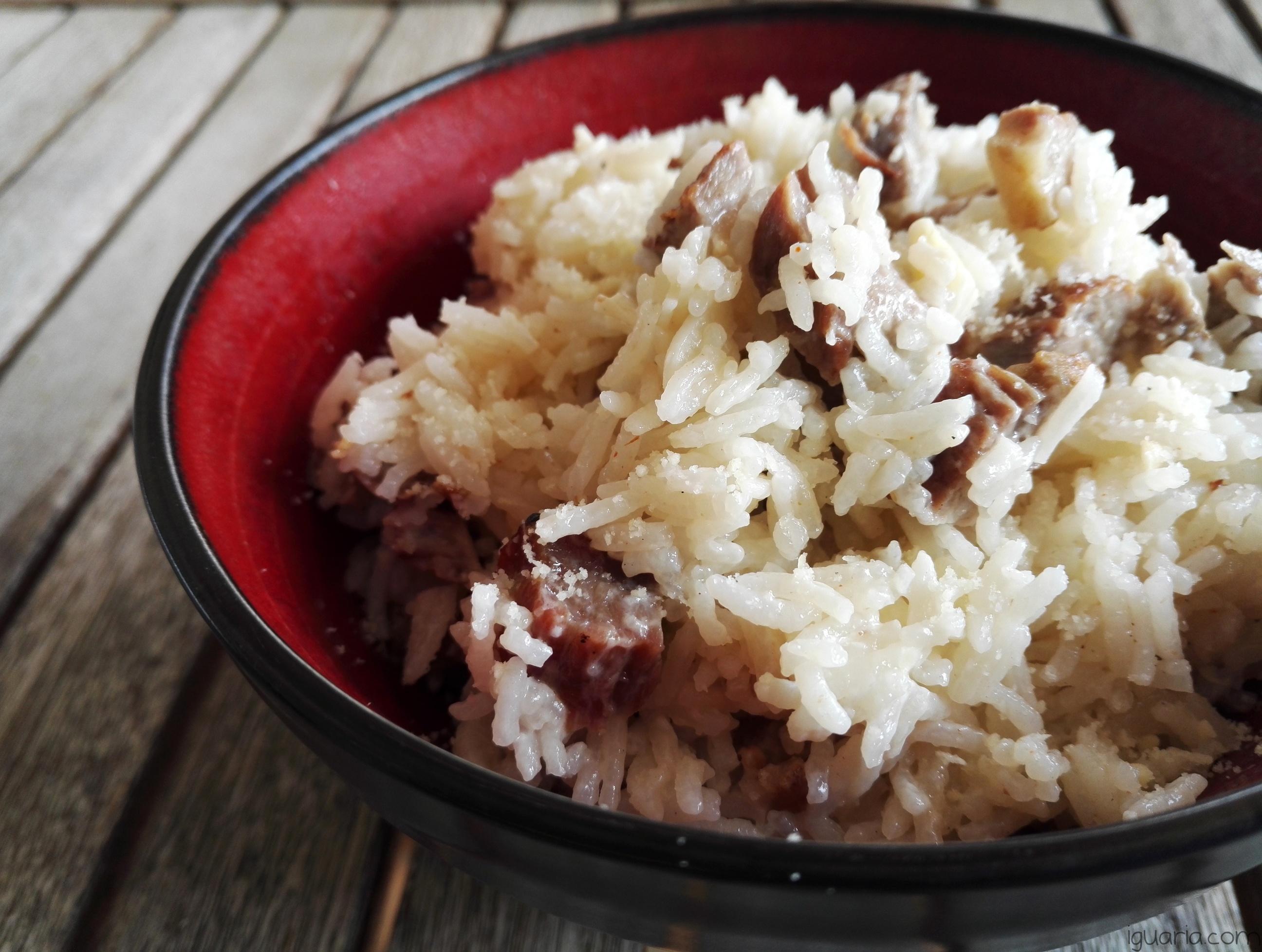 iguaria-arroz-artomatico-com-carne