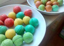 Bolinhas Coloridas de Bolo