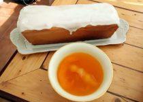 Pão de Ló de Laranja com Glacé