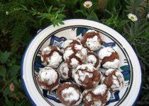 Bolinhos de Chocolate com Açúcar